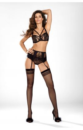 Black Diamond Garter Belt