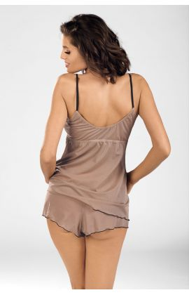 Cinnamon Coffee Nightset shorts